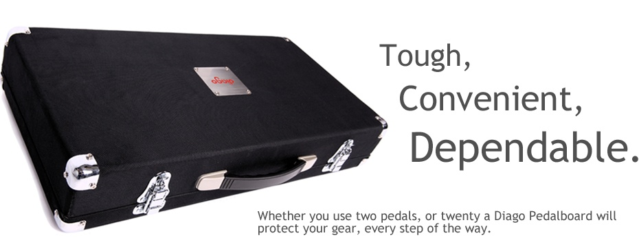 Diago Hardcase Pedalboards Homepage Banner